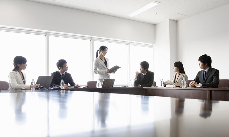 会議やセミナーイメージ